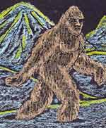 bigfoot eyewitness sketches