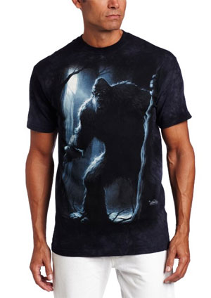 bigfoot gift Sasquatch T