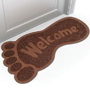bigfoot gift doormat